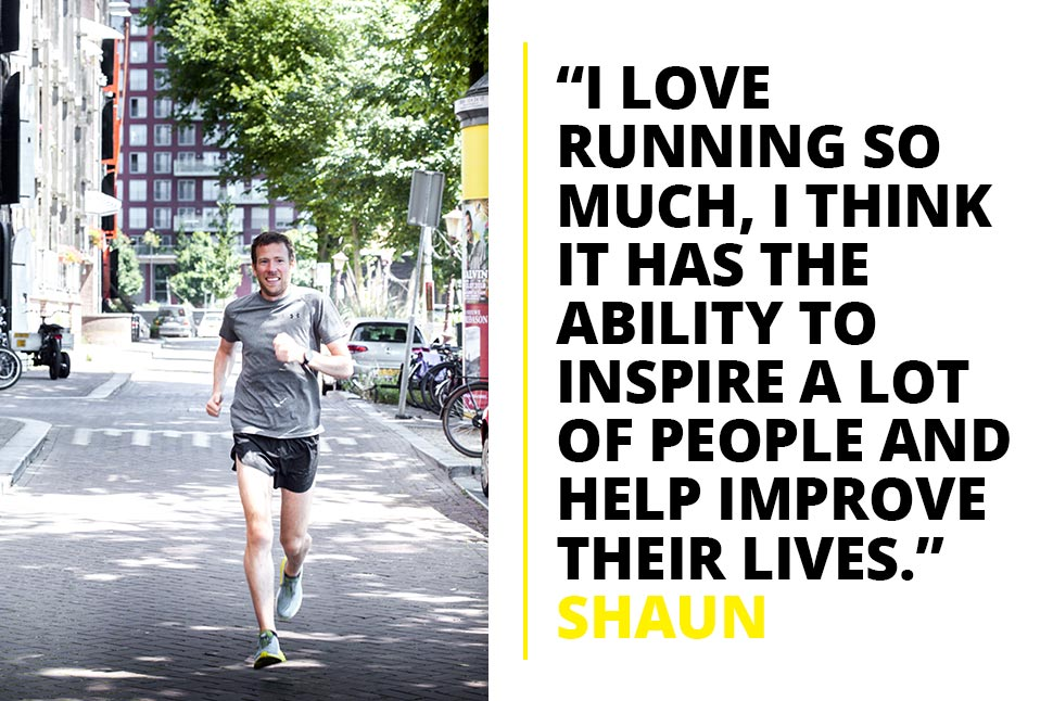 Shaun Dixon on why running inspires him