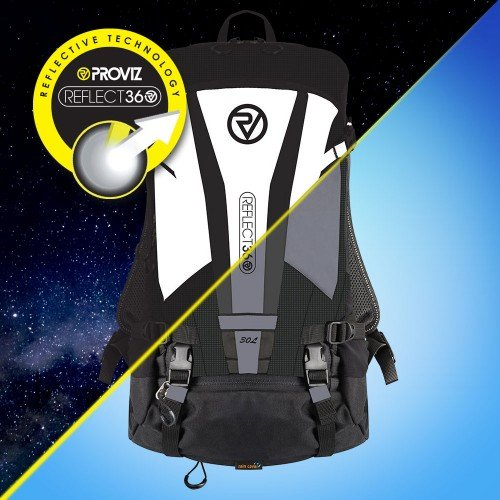 NEW: REFLECT360 Explorer Backpack - Black/Reflective - 30 Litres
