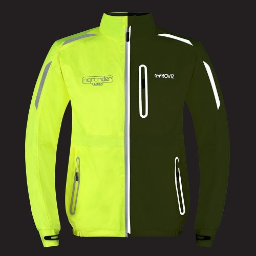 Nightrider LED Men's Cycling Jacket