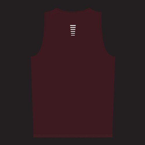 NEW: Classic Men's Running Singlet - Red