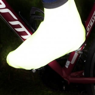 NEW: REFLECT360 Waterproof Overshoes - Yellow/Reflective