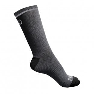 NEW: Classic Merino Cycling Socks - Mid-Length - Grey