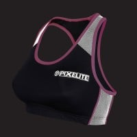Pixelite Performance Crop Top