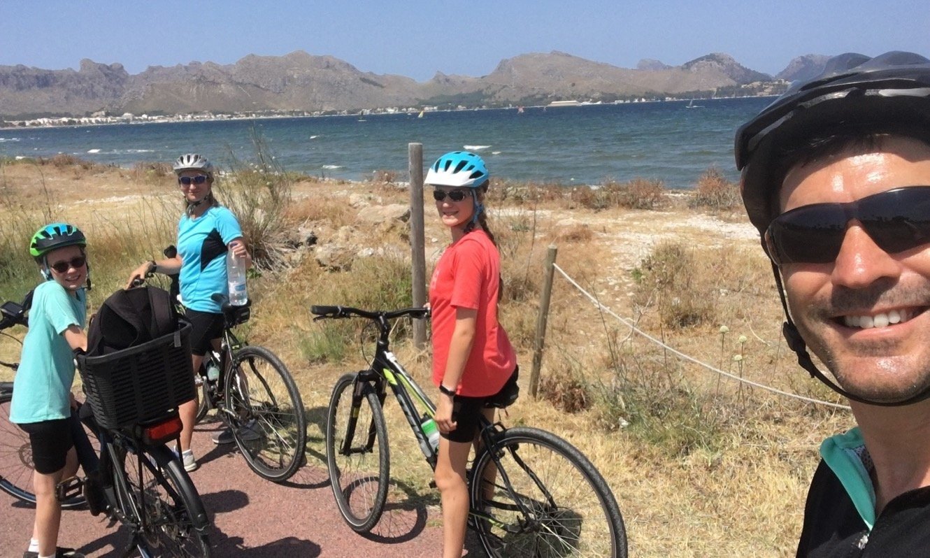 Family Cycling in Mallorca