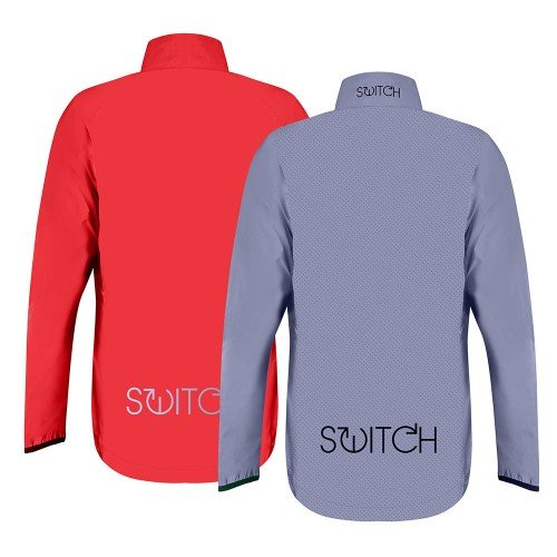 NEW: Switch Men's Cycling Jacket - Red / Reflective