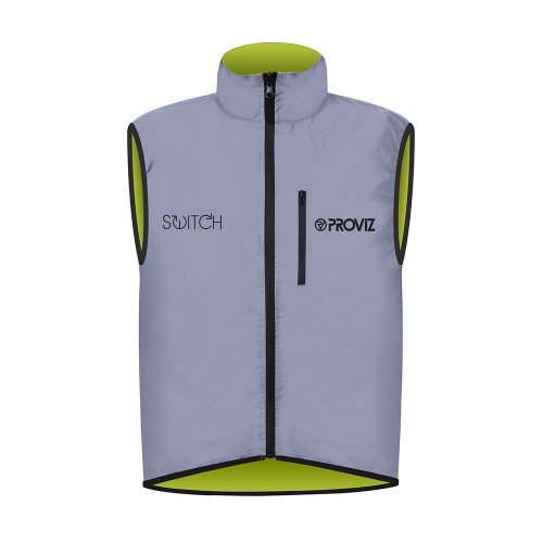 Switch Men's Cycling Gilet - Yellow / Reflective