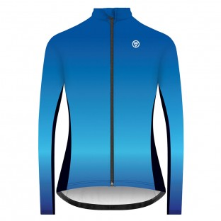 Classic Women's Alpine Long Sleeve Jersey - Blue