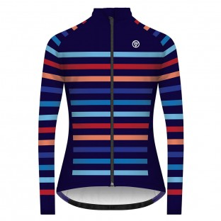 Classic Women's Podium Long Sleeve Jersey - Multi Stripe