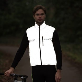 Switch Men's Cycling Gilet - Black / Reflective