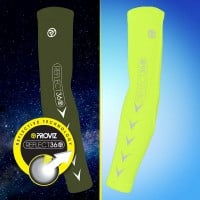 NEW: REFLECT360 Elite Arm Warmers - Yellow