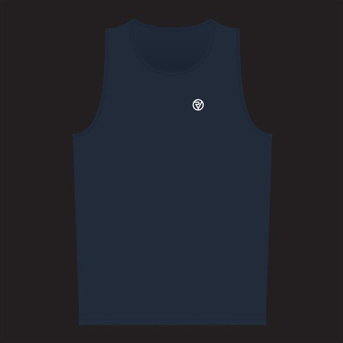 NEW: Classic Men's Running Singlet - Blue