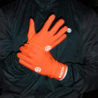 NEW: Classic Lightweight Running Gloves - Orange