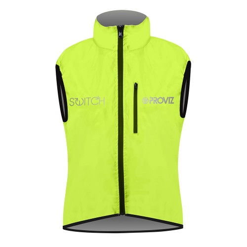Switch Women's Cycling Gilet - Yellow / Reflective