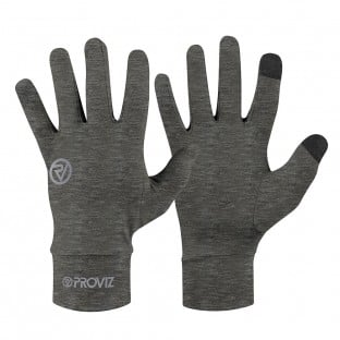 NEW: Classic Lightweight Running Gloves - Grey