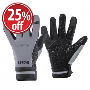 REFLECT360 Waterproof Cycling Gloves