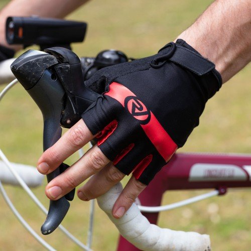 NEW: Classic Cycling Mitts - Red