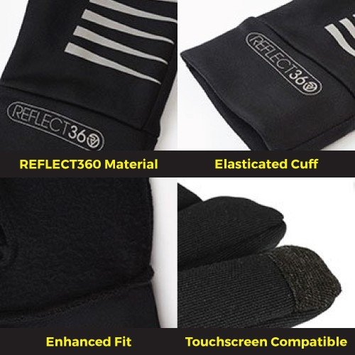 NEW: REFLECT360 Running Gloves