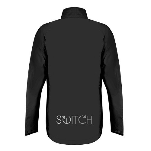 Switch Men's Cycling Jacket - Black / Reflective