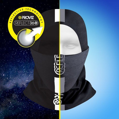NEW: REFLECT360 Neck Gaiter/Warmer - Black