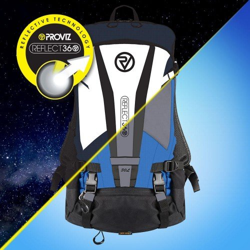 NEW: REFLECT360 Explorer Backpack - Blue/Reflective - 30 Litres