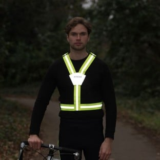 Classic Flexi-Viz Cycling/Running Belt