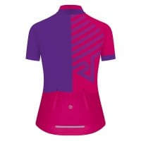 NEW: Classic Women's Short Sleeve Tour Cycling Jersey - Purple