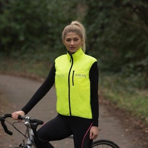Switch Cycling Gilet Lifestyle Image