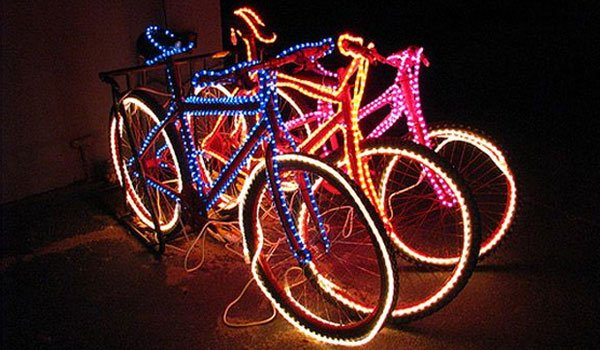 Funky Bike Lights