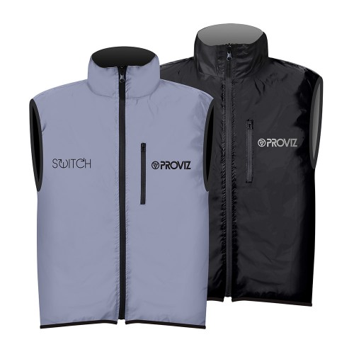 Switch Men's Cycling Vest - Black / Reflective