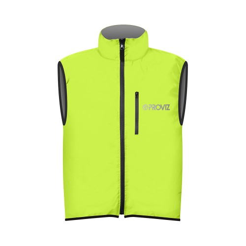 Switch Men's Cycling Vest - Yellow / Reflective
