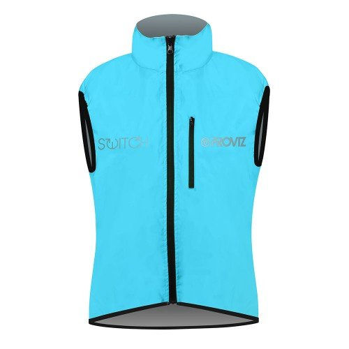 NEW: Switch Women's Cycling Vest - Blue / Reflective