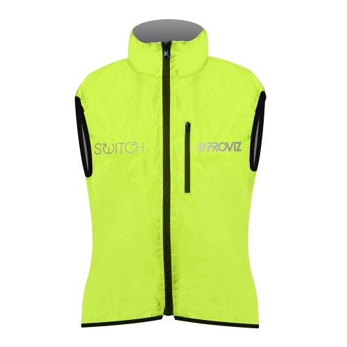 Switch Women's Cycling Vest - Yellow / Reflective