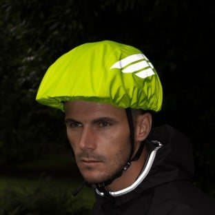 NEW: Classic Waterproof Helmet Cover - Yellow