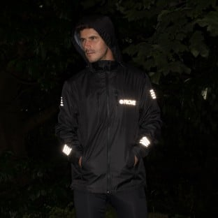 NEW: Classic Men's Waterproof Rain Jacket - Black