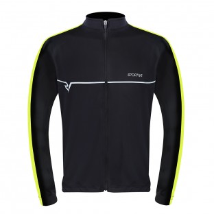 Sportive Men's Long Sleeve Cycling Jersey