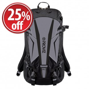 NEW: REFLECT360 Touring Black Backpack - 20 Liters