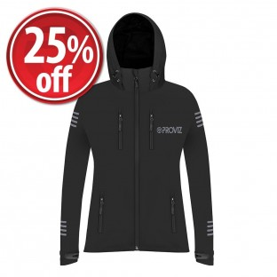 NEW: Classic Women's Waterproof Rain Jacket - Black