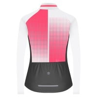 NEW: Classic Women's Long Sleeve Slipstream Cycling Jersey - Pink Polka