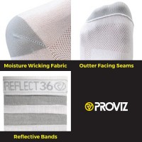 NEW: REFLECT360 Airfoot Running Socks - Mid-Length
