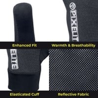 PixElite Performance Running Gloves