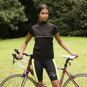 Sportive Women's Cycling Shorts in Daylight