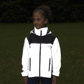 Reflect360 Kids' Fleece-Lined Waterproof Jacket