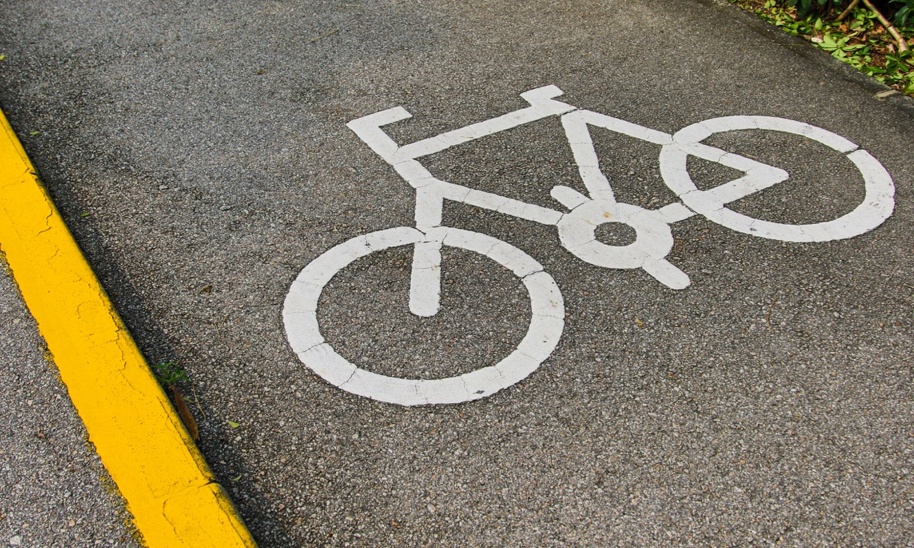 Cycle Sign on a Road