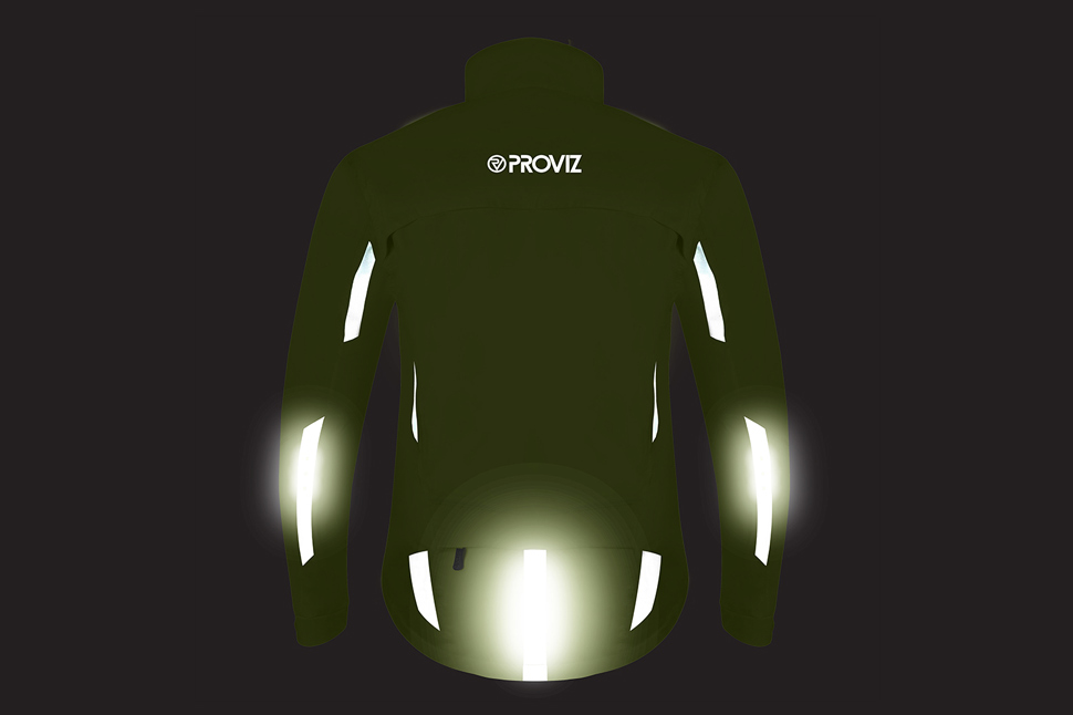 The LED Nightrider Cycling Jacket