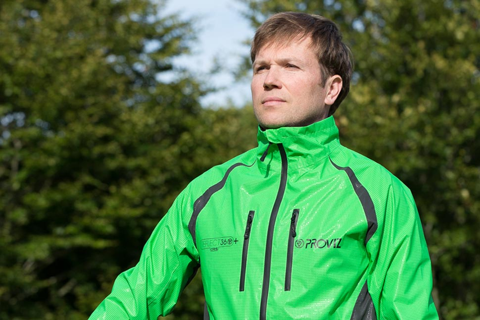 Rupert Langly-Smith in the CRS Plus Jacket