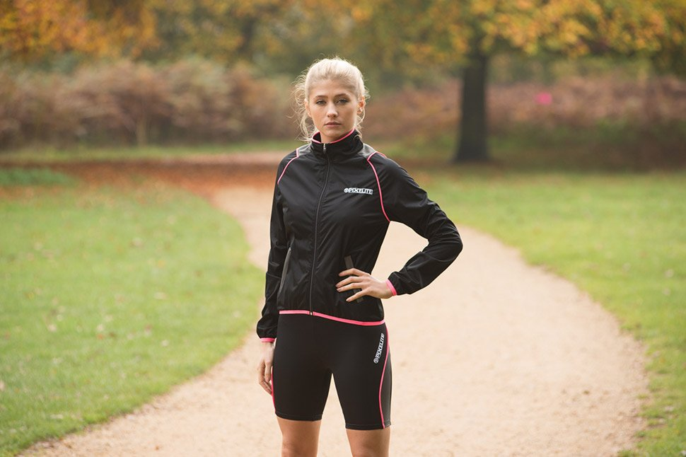 The Proviz Pixelite Running Jacket for Women is perfect for the Spring/ Summer transition