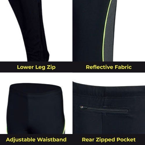 PixElite Performance Men's Running / Yoga Leggings - Full Length