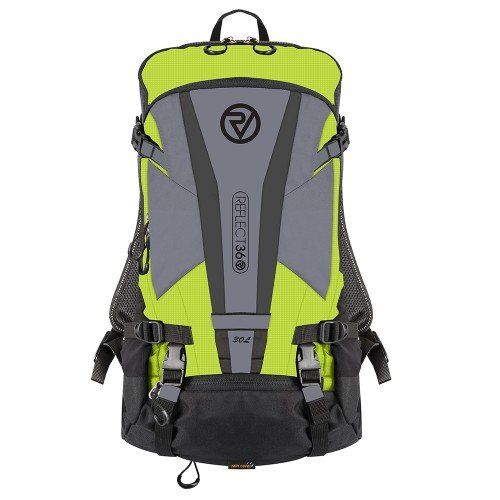 NEW: REFLECT360 Explorer Backpack - Yellow/Reflective - 30 Litres