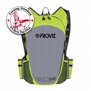 NEW: REFLECT360 Running Backpack - Yellow/Reflective