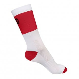 NEW: Classic Explorer Socks - Mid Length - White/Red